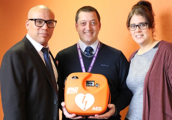 Gateway Primary purchase defibrillator