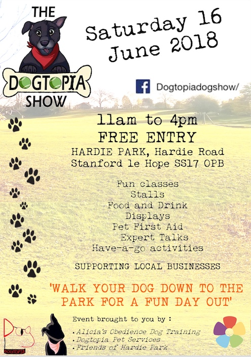 Hardie Park set to host pup-tastic day out