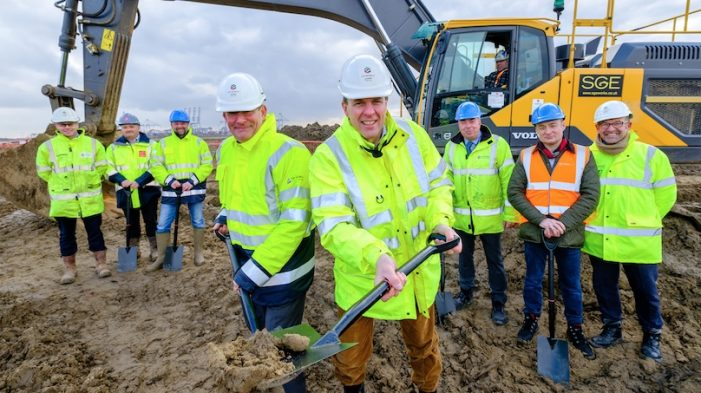Construction of SH Pratt Group's state-of- the-art  facility at DP World London Gateway begins