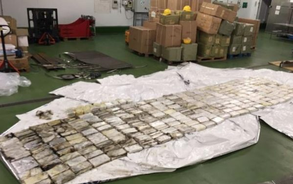 Woman charged as drugs worth £22 million uncovered after raid at London Gateway port