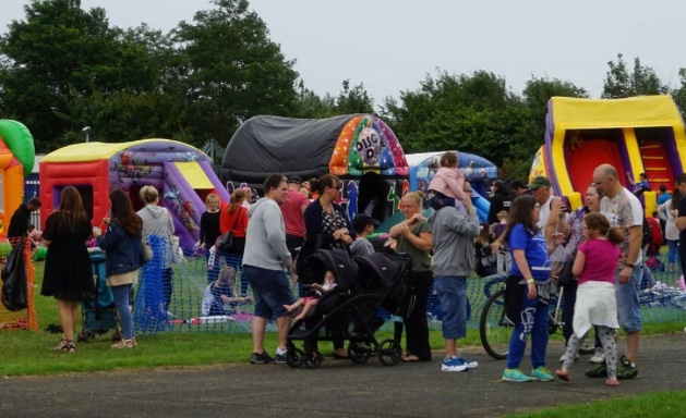 Crowds enjoy the East Tilbury Community Fun Day