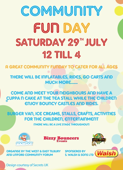 East Tilbury Community Fun Day