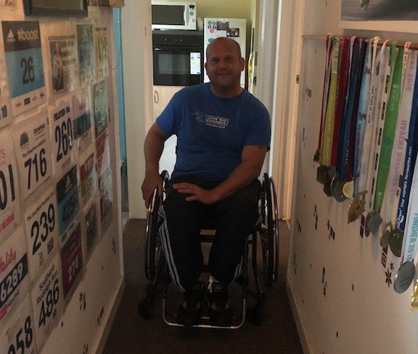 The Grays Lives Project: Eddie Clampin: Para athlete