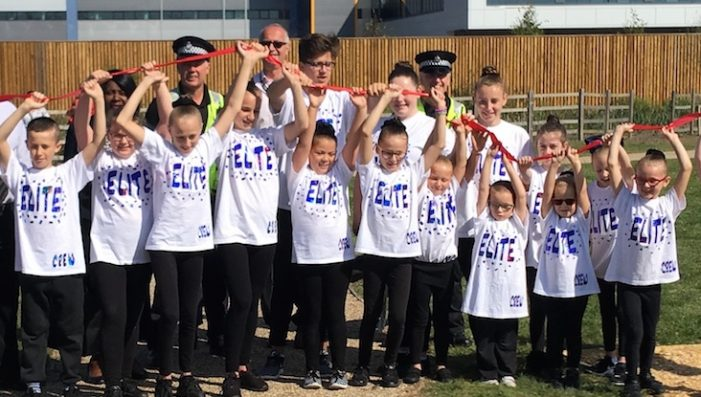 Tilbury dancers open new play park