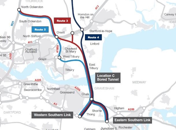 Essex County Council welcome Lower Thames Crossing as 'big step forward to ending costly traffic queues'.