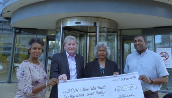 Grays family raise hundreds for Essex Cardiothoracic Centre