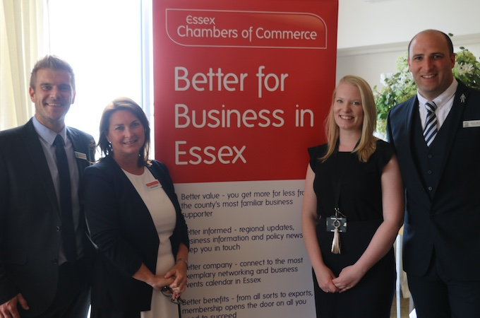 Sixty businesses at Twilight Networking event for Essex Chamber of Commerce