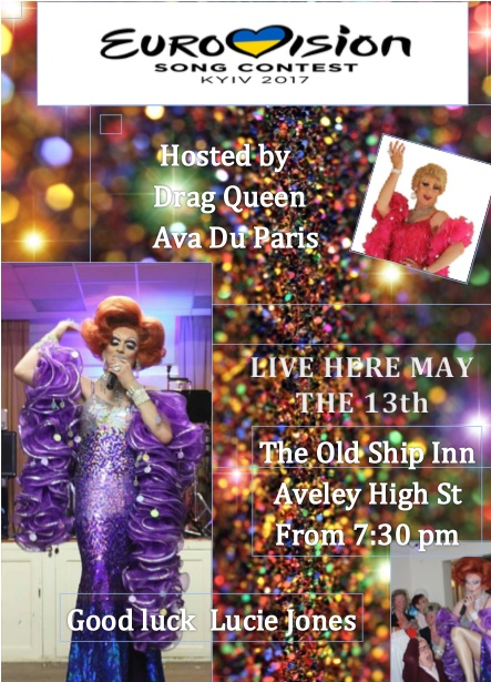 It could be a drag at the  Old Ship Inn, Aveley