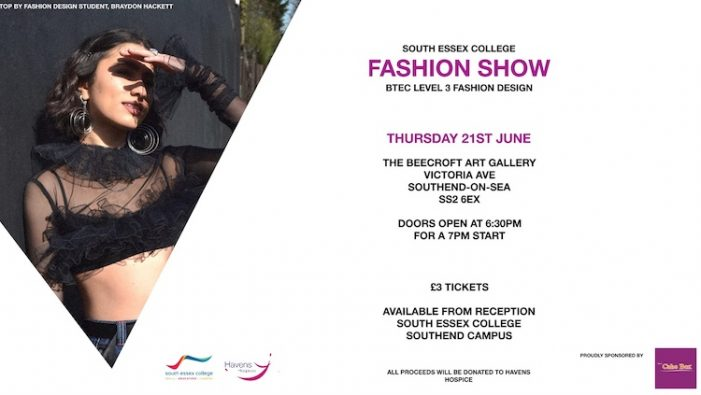 South Essex College to host charity fashion show