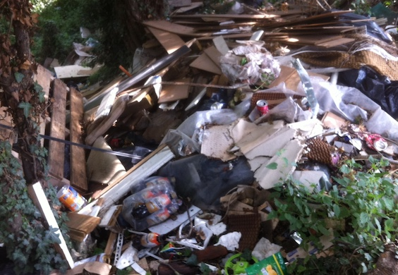 Eagle-eyed council officers catch fly-tippers red-handed