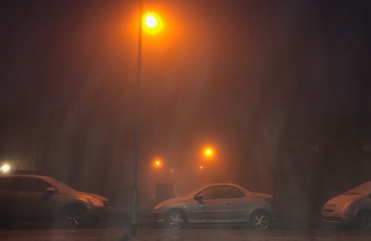 Monday traffic and travel: Fog alerts
