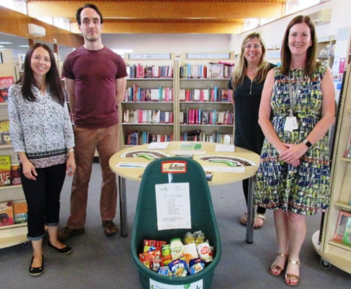 Corringham Library set to be drop off point for Foodbank