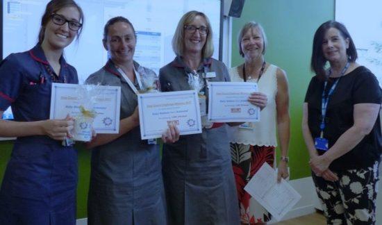 Best foot forward for staff at Basildon Hospital