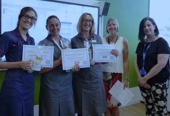 Best foot forward for staff at Basildon Hospital