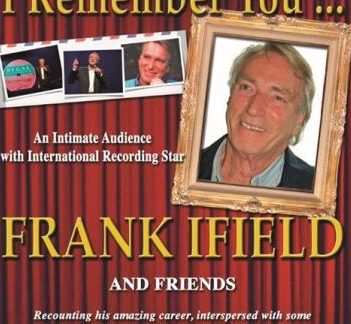 Frank Ifield at the Thameside Theatre
