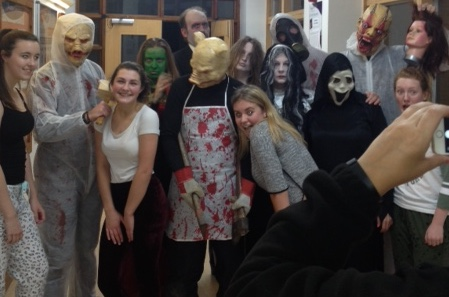 Girls hold Fright Night at Gateway Academy!