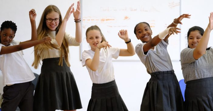Gable Hall School hosts Royal Opera House Sing and Stage La Bohème event