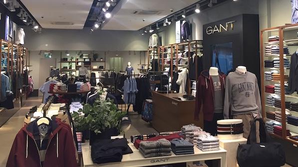 Gant opens at intu Lakeside