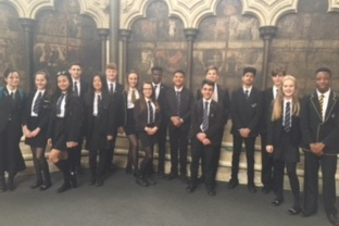 Gateway Academy students visit Westminster Abbey
