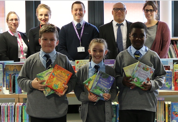 Friends of Gateway Primary donate hundreds of new books