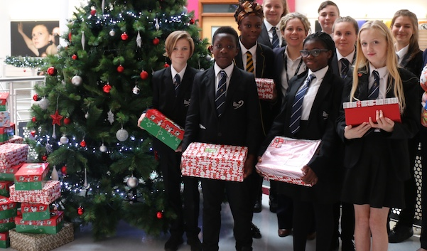 More Christmas joy from Gateway Academy in Tilbury
