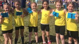 Giffards Primary's gifted Cross Country runners