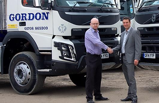South Ockendon-based Gordon Group add 30 new Volvos to fleet