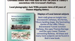 Talk on Tilbury's association with Gravesend railway