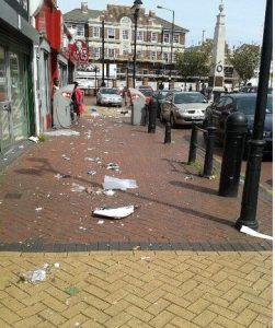 Grays High Street Litter