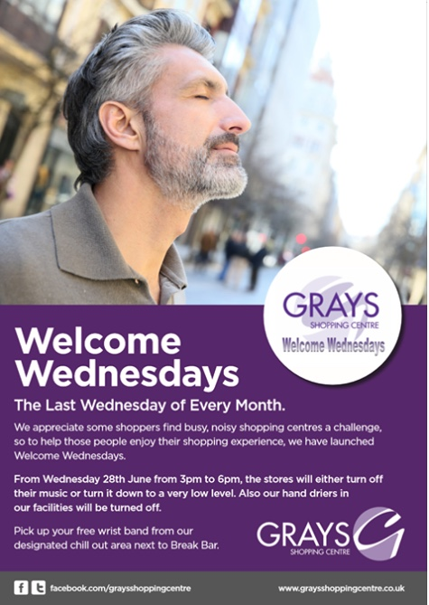 Grays Shopping Centre to launch Welcome Wednesday