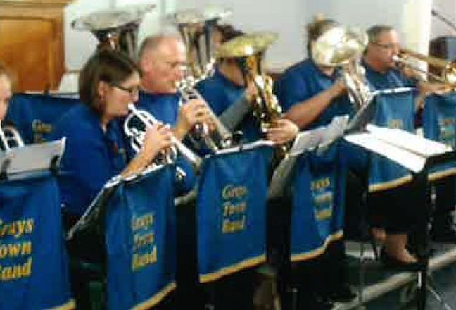 Grays Town Band will get you in the mood for Christmas