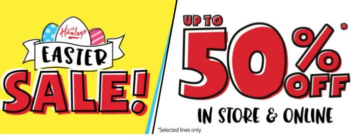Easter Sale at Hamley's intu Lakeside store