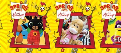 Easter treats from Hamleys at intu Lakeside