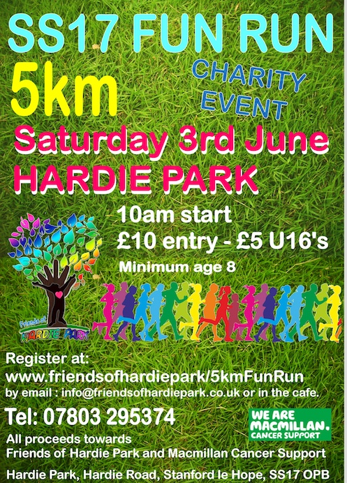 Come and take part in the Hardie Park 5K