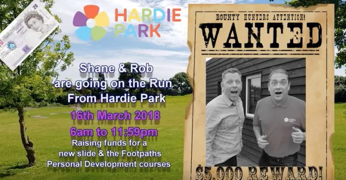 The Big Challenge: How far can Rob and Shane get from Hardie Park?