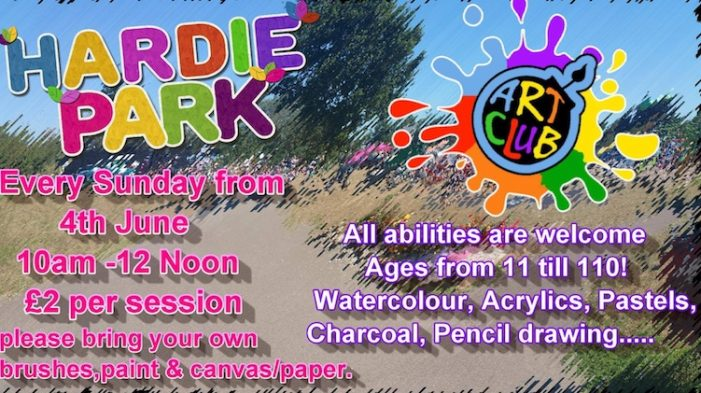 Every Sunday there is fun at Hardie Park