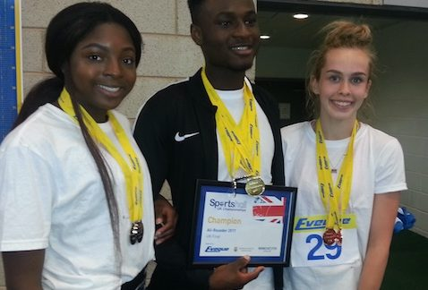 Athletics: Hayley's success at an Instance
