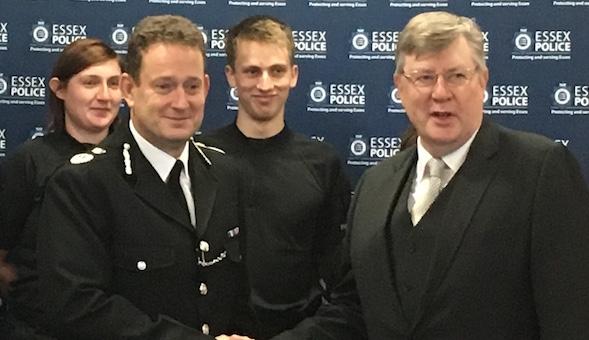 New Essex Chief Constable sworn in