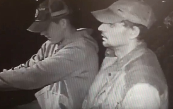 Men wanted after Harris Primary burgled