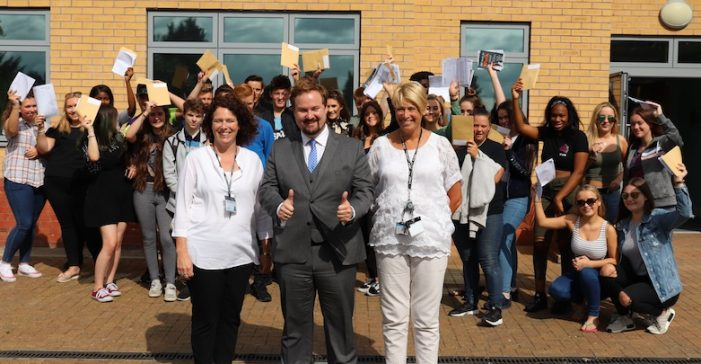 Education boss congratulates Thurrock schools on GCSE results
