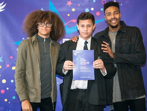 Hathaway Academy student praised at awards ceremony