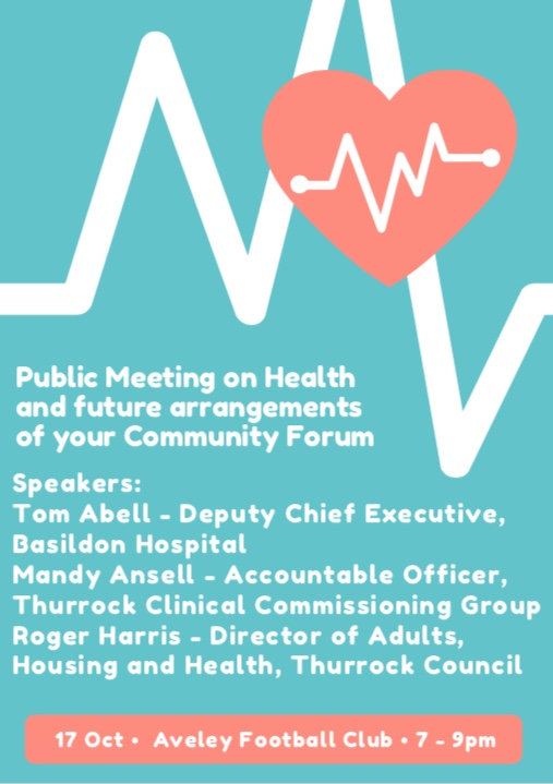 Meeting to discuss public health in Aveley