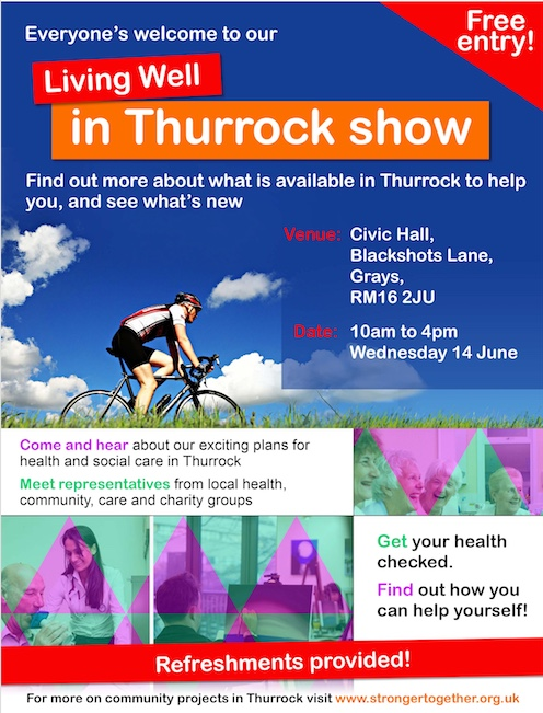 Exhibition to showcase Living Well in Thurrock