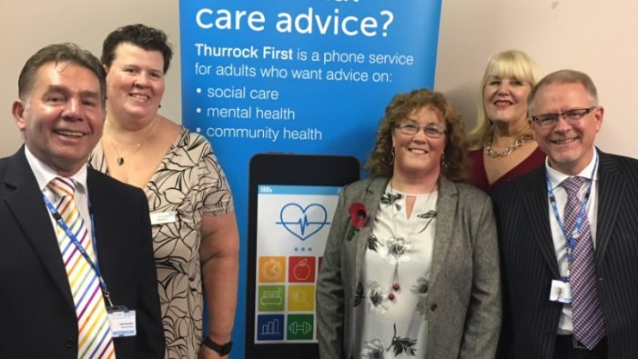 Thurrock residents now need just one number for health and social care needs