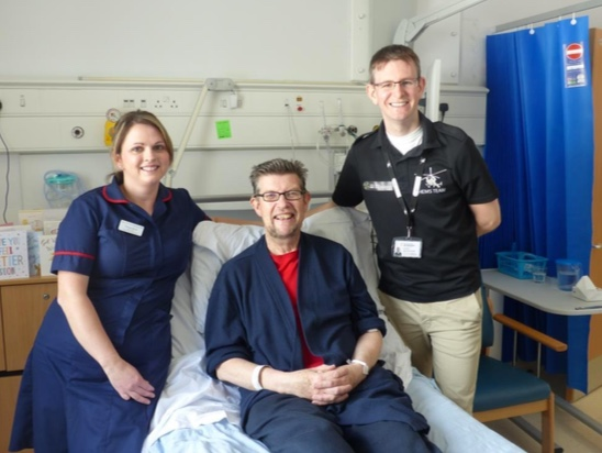 Excellent work of heart unit at Basildon Hospital highlighted