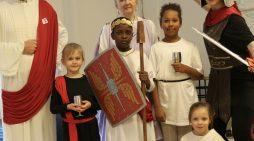 Friends, Romans, Countryman come to Herringham Primary