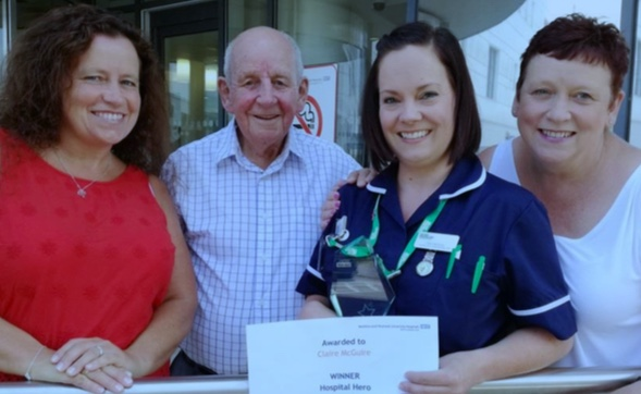 Nominate a hero at Basildon Hospital