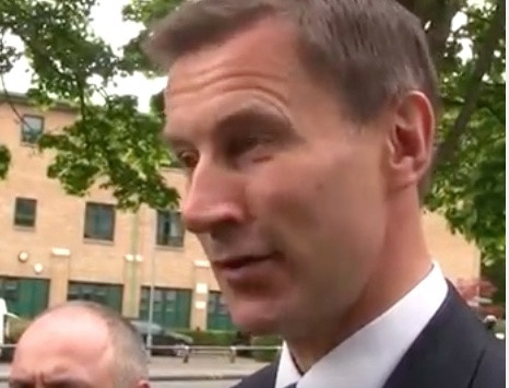 Jeremy Hunt visit to Tilbury doesn't curry favour with Labour