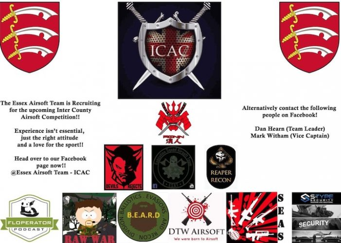 Come and join the Airsoft team