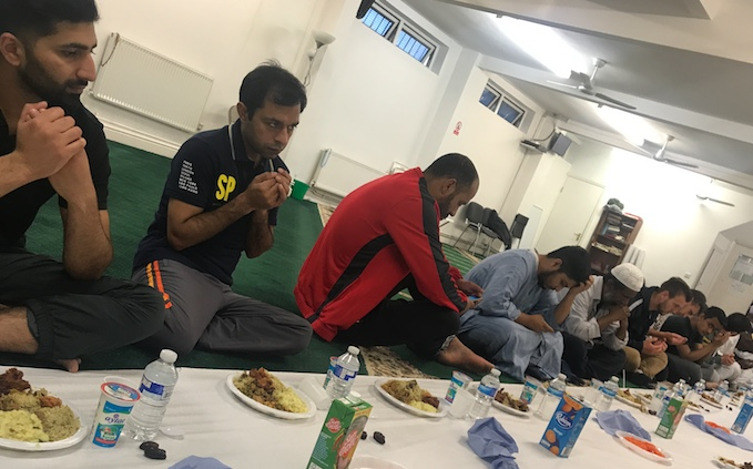Thurrock Muslim community gather together for community Ifthar